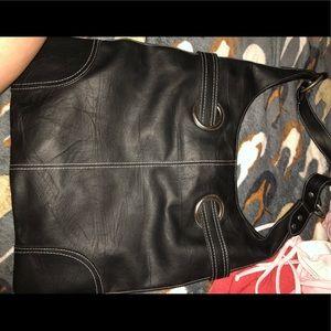 Handbags - women's black purse
